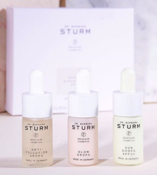 Dr Barbara Sturm has her own skincare line, too