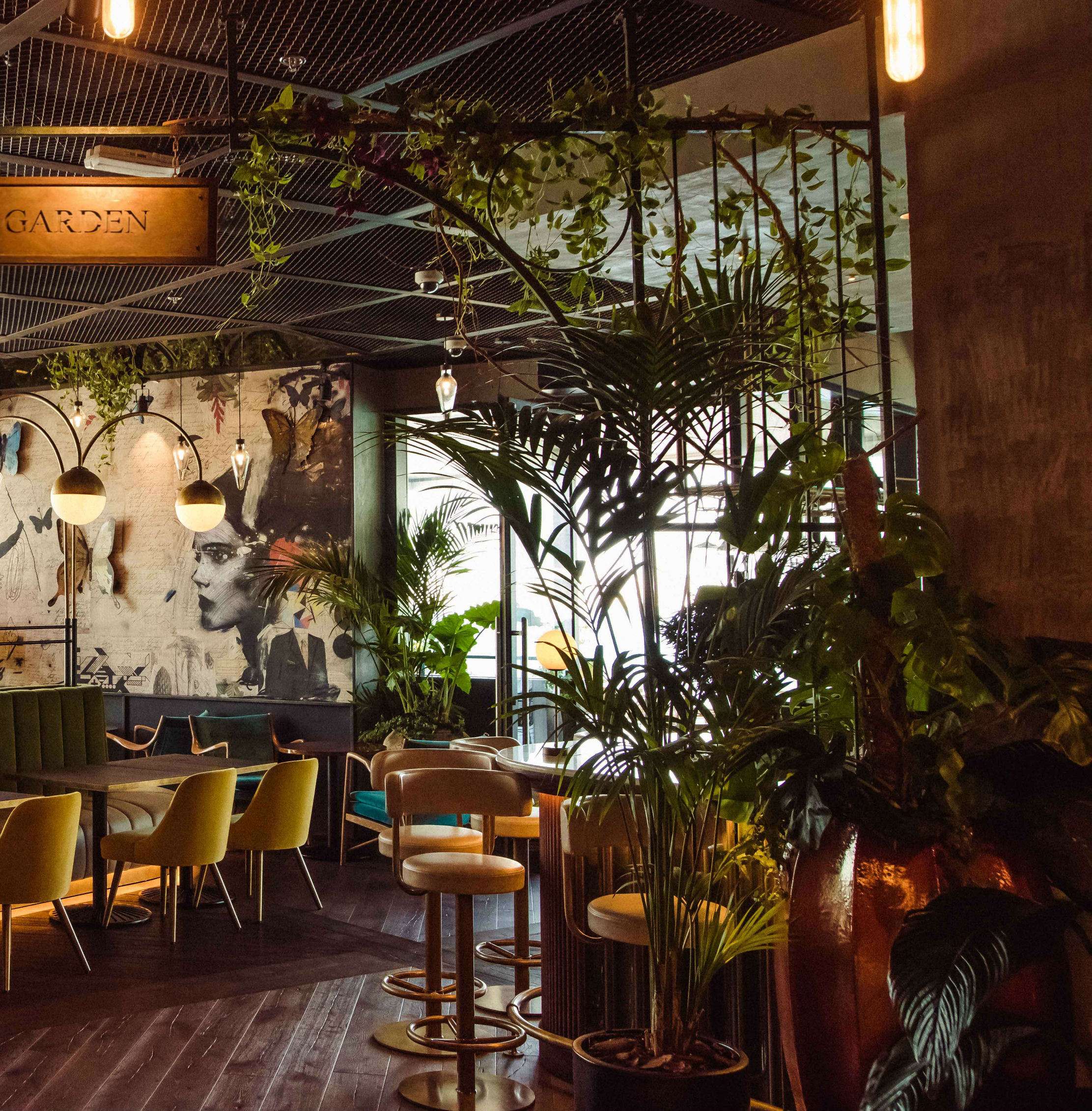 The London Project in Dubai is the botanically inspired restaurant we're escaping to this month