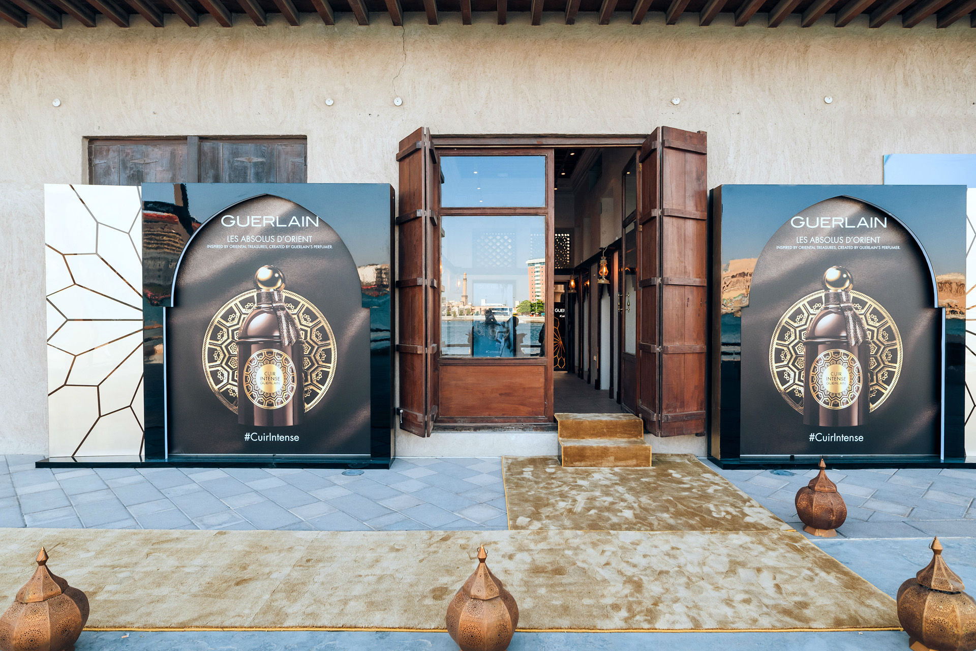 Guerlain teamed up with the perfume museum in Dubai to launch the new scent