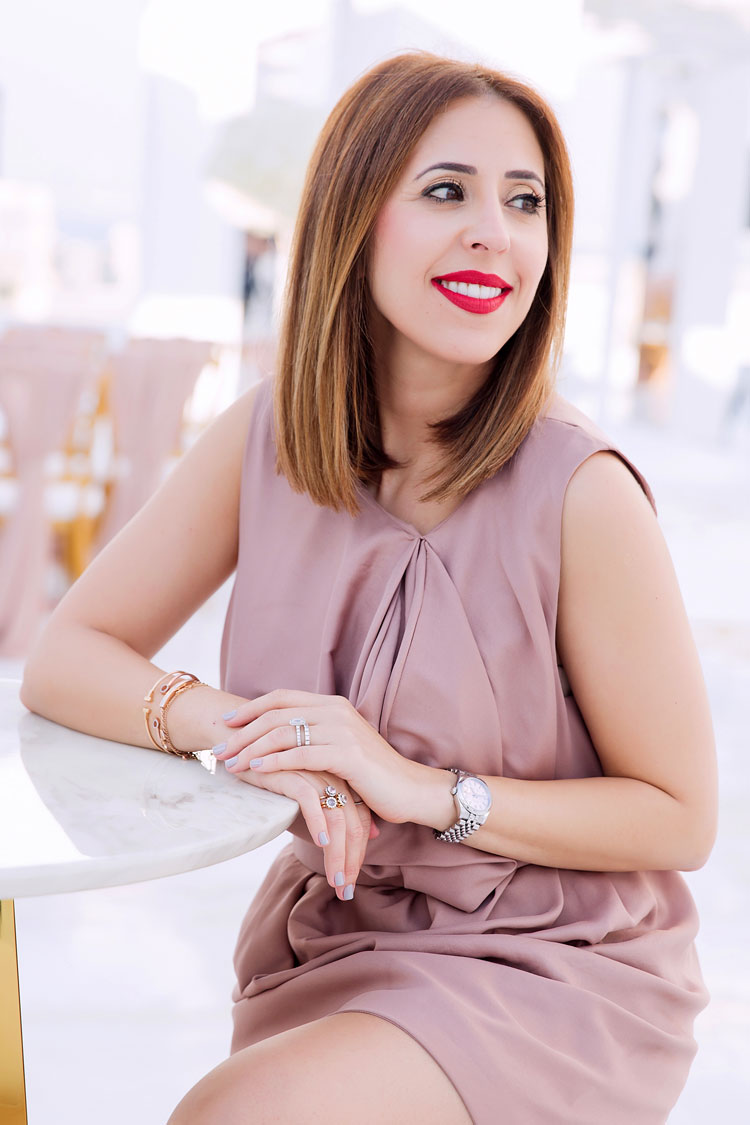 Zainab Al Salih is a wedding planner and the Founder of Carousel Events