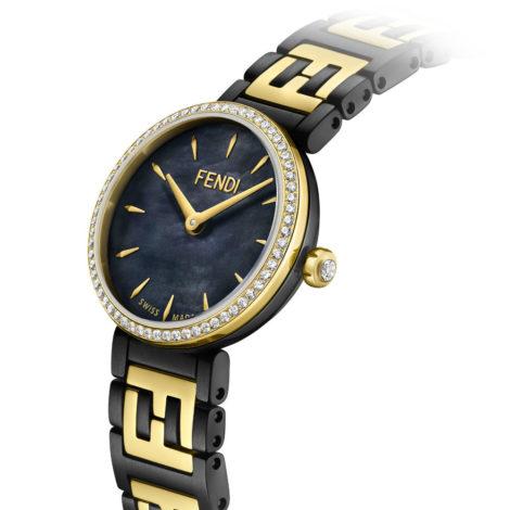 02_Fendi Timepieces_Forever Fendi watch_Diamonds Bezel & Dial