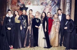 House of Dior took to the legendary Palazzo Labia to host the Tiepolo Ball