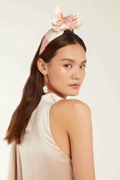 1 matches BENOÎT MISSOLIN Eugenie bow headband