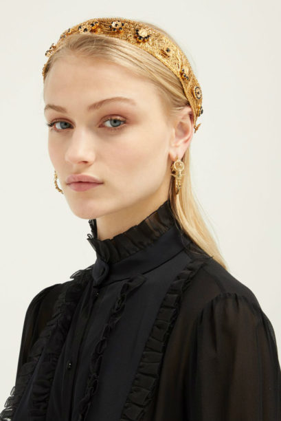 1 matches dolce gabbana crystal-embellished headband
