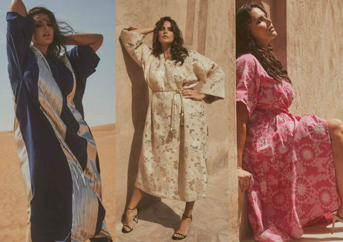 See the Ramadan collection modelled by Candice Huffine