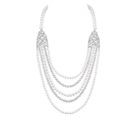 Chanel SECRETS D'ORIENTS PERLES necklace J63761
