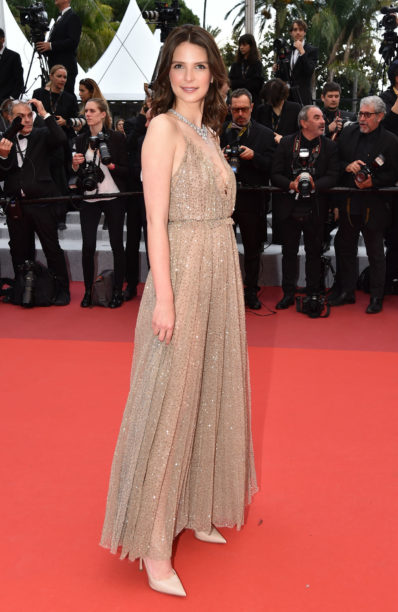 JOSPHINE JAPY at cannes in dior