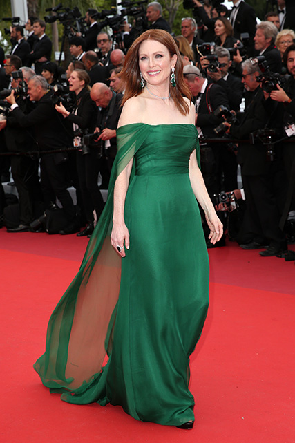 Julianne Moore opened on the first day at Cannes in Dior for 2019