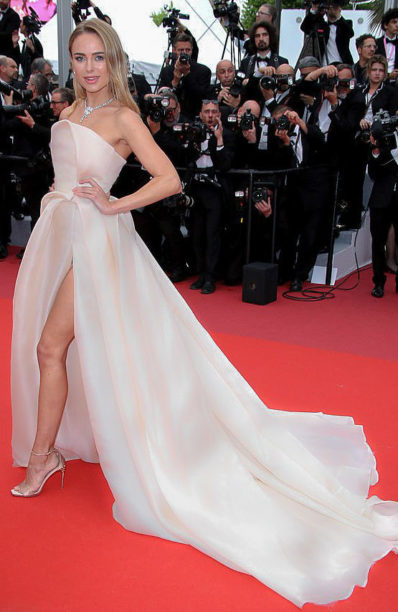 Kimberley Garner in Rami Al Ali at Cannes