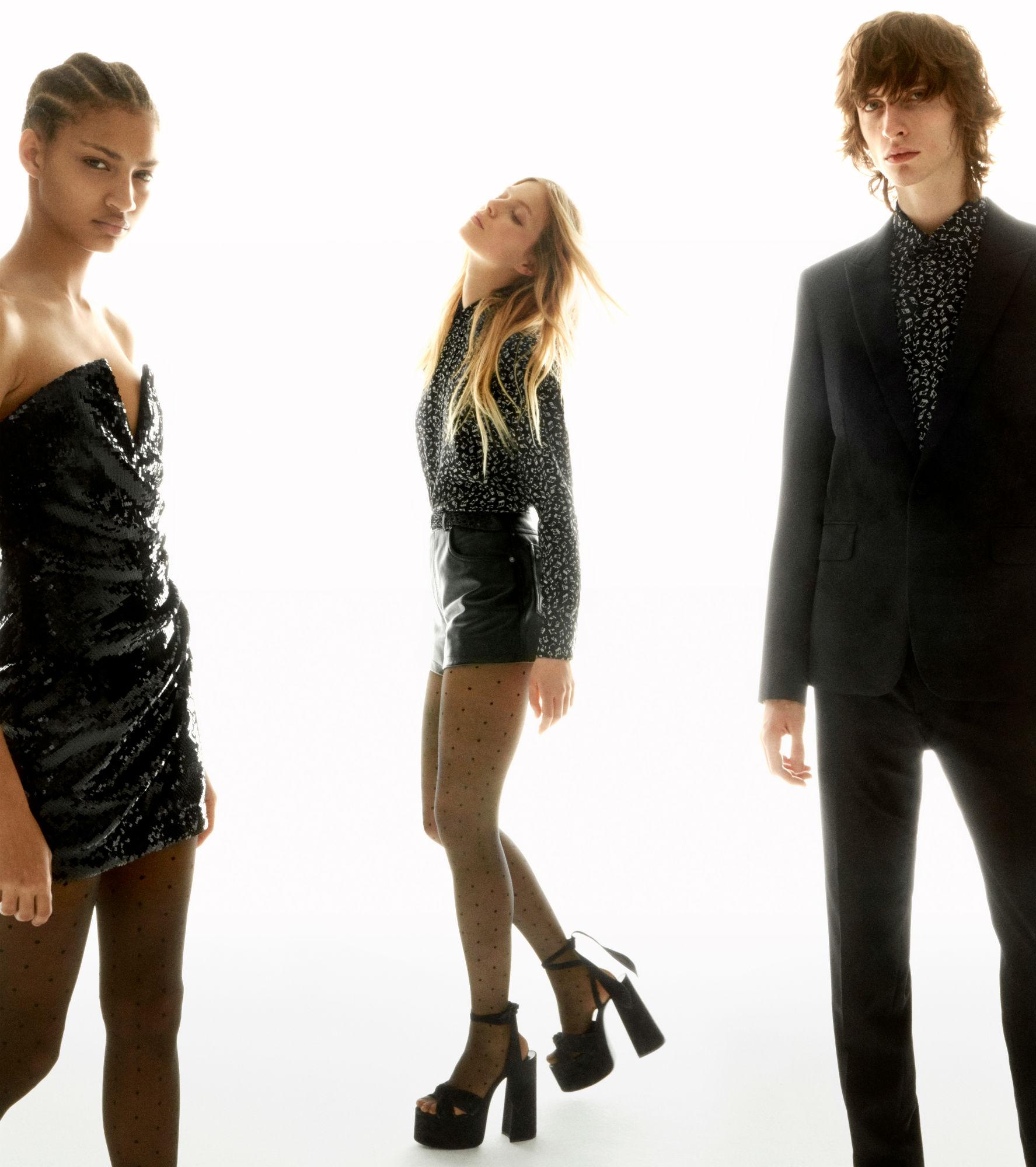 Shop Saint Laurent's collaboration with Net-A-Porter now