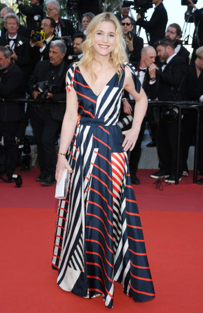 Natacha Regnier Cannes Film Festival in Paule KA