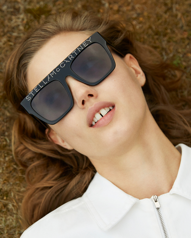 Stella McCartney has recently launched a sustainable sunglasses collection