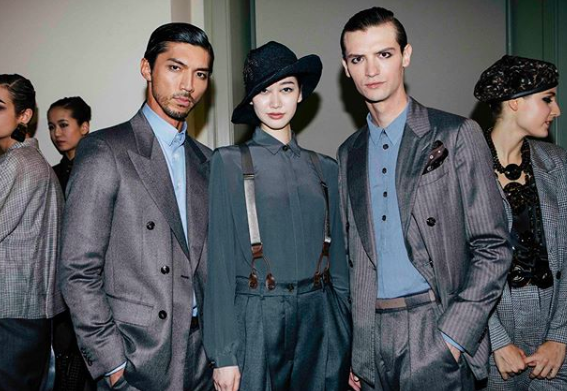 Armani's first pre collection was unveiled on May 24th, 2019