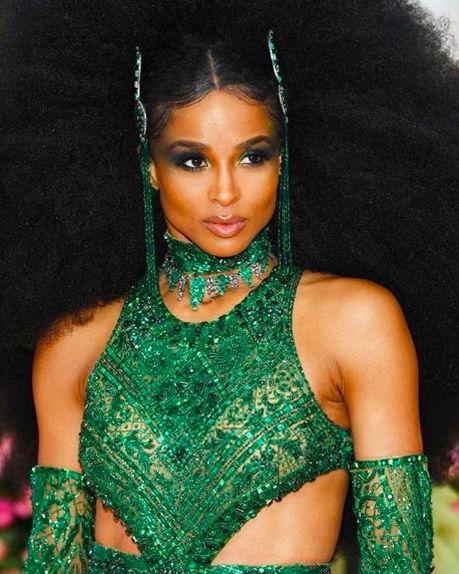 ciara hair makeup met gala 2019