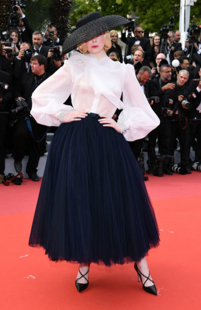 elle fanning in dior at cannes