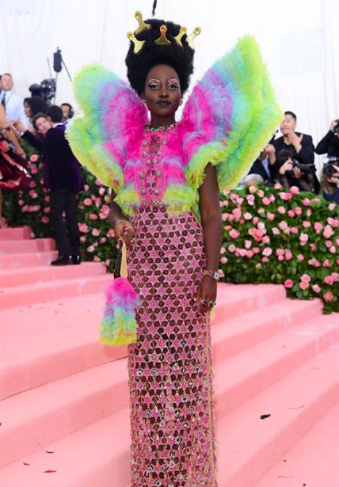 lupita nyongo in versace dress at met gala 2019