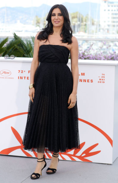 nadine labaki in dior at cannes 2019