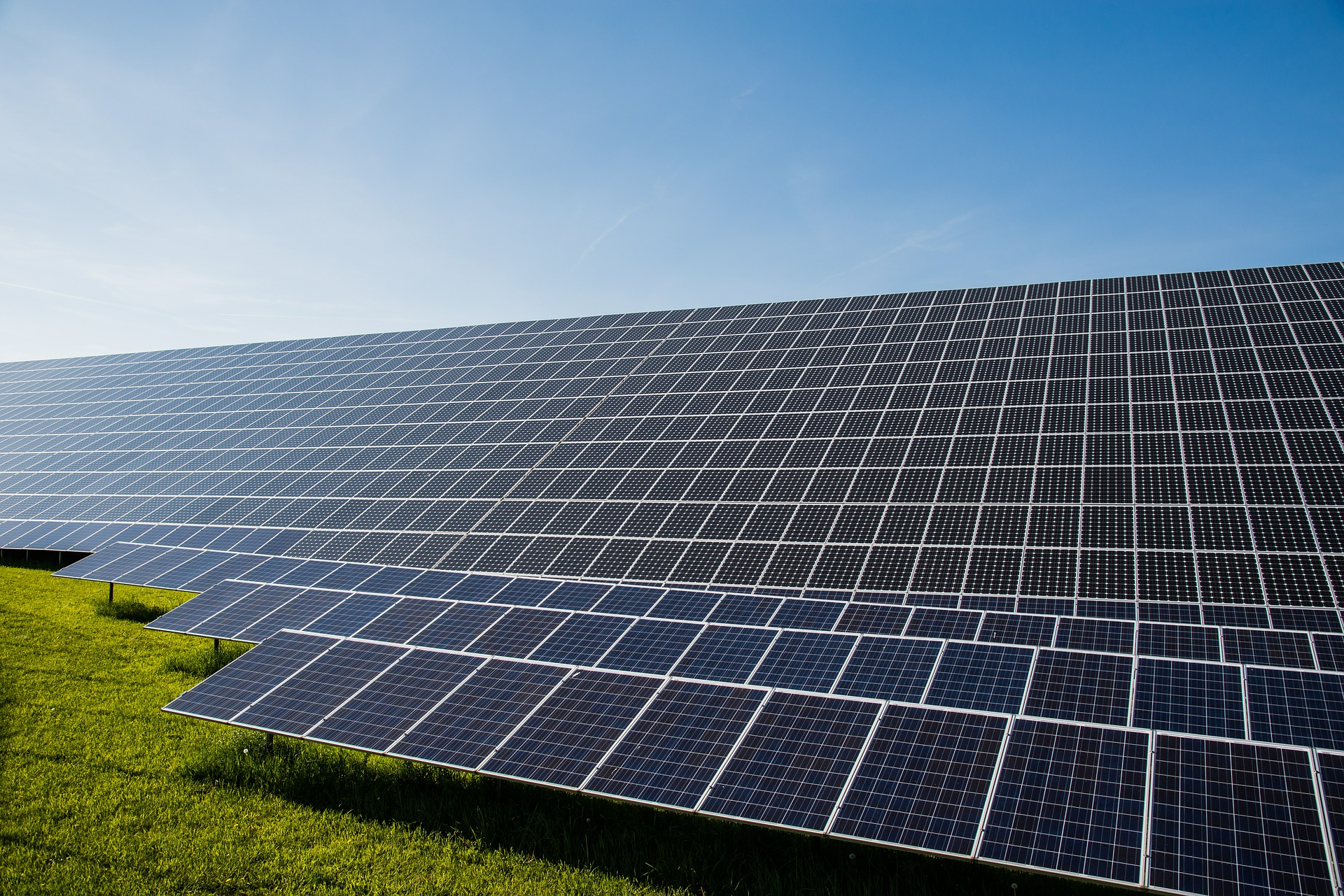 Solar energy is a renewable, free source