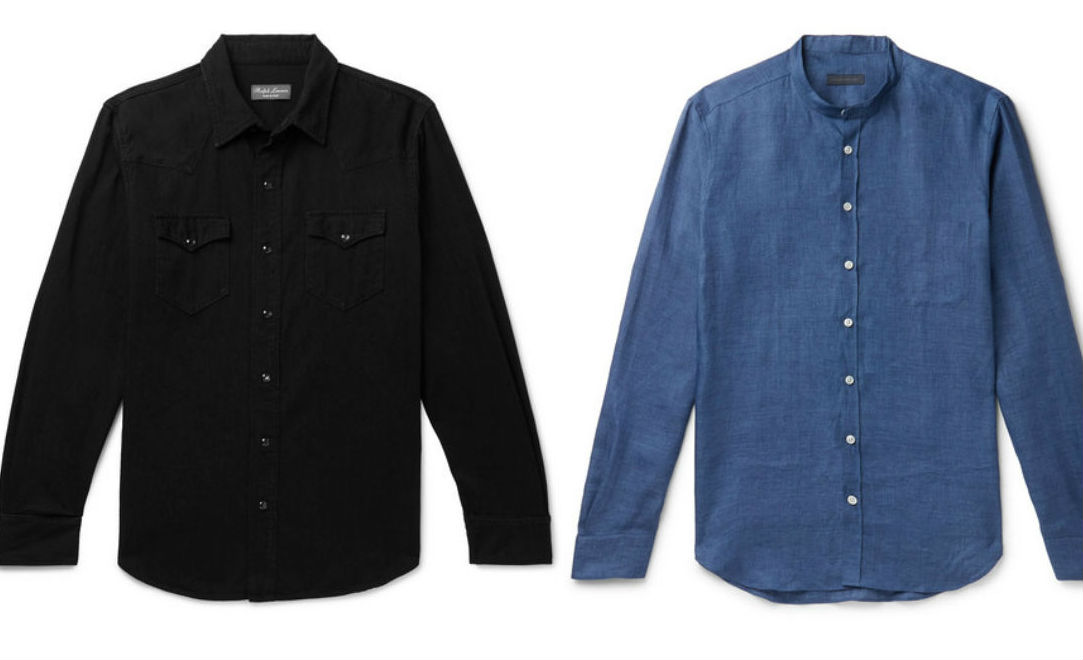 Denim shirts are making their ways into men's work wardrobe for SS19