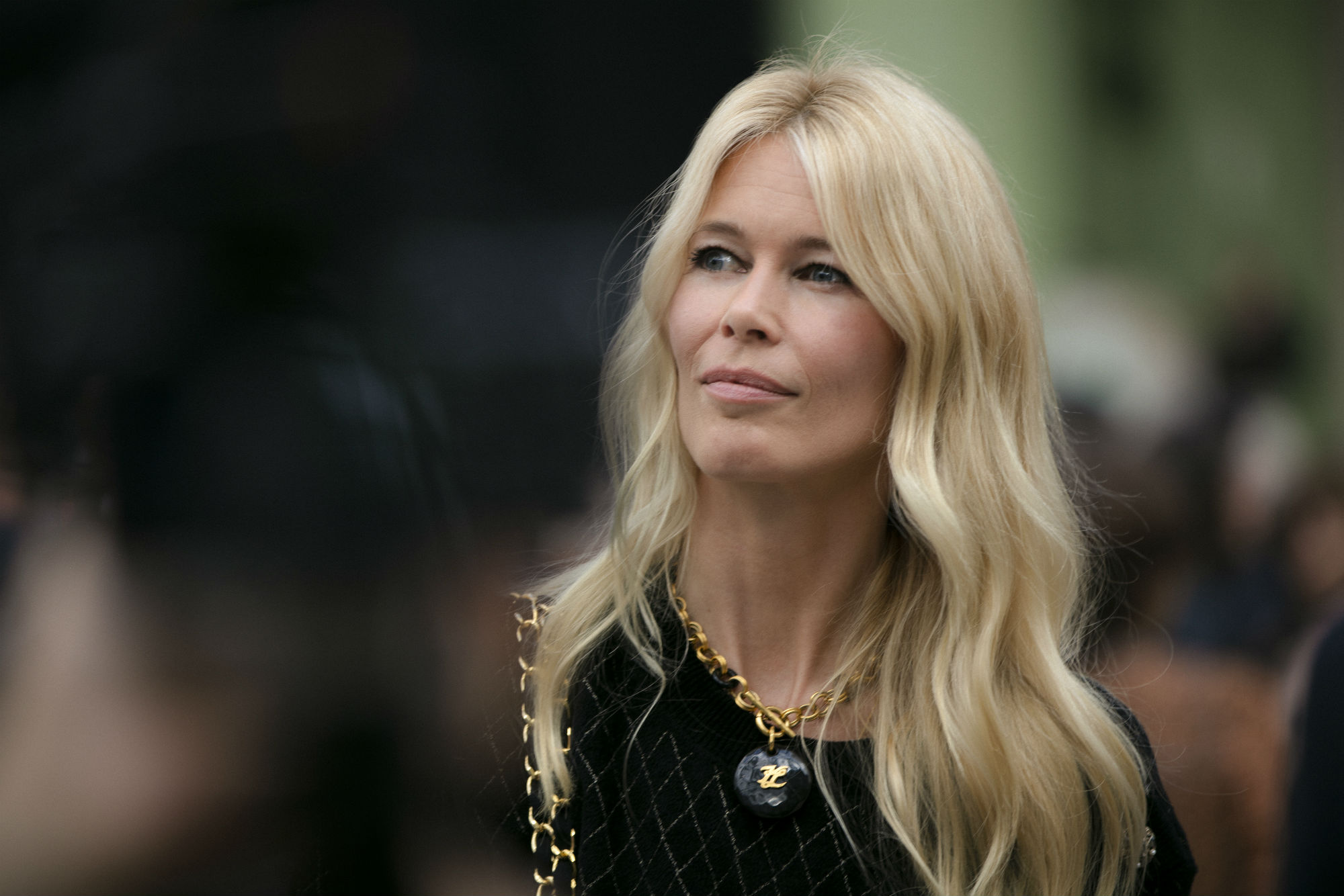 Claudia Schiffer at Karl For Ever in June 2019