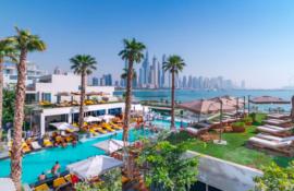The main pool at FIVE Palm Jumeirah