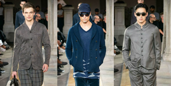See Giorgio Armani's Menswear Collection for SS20