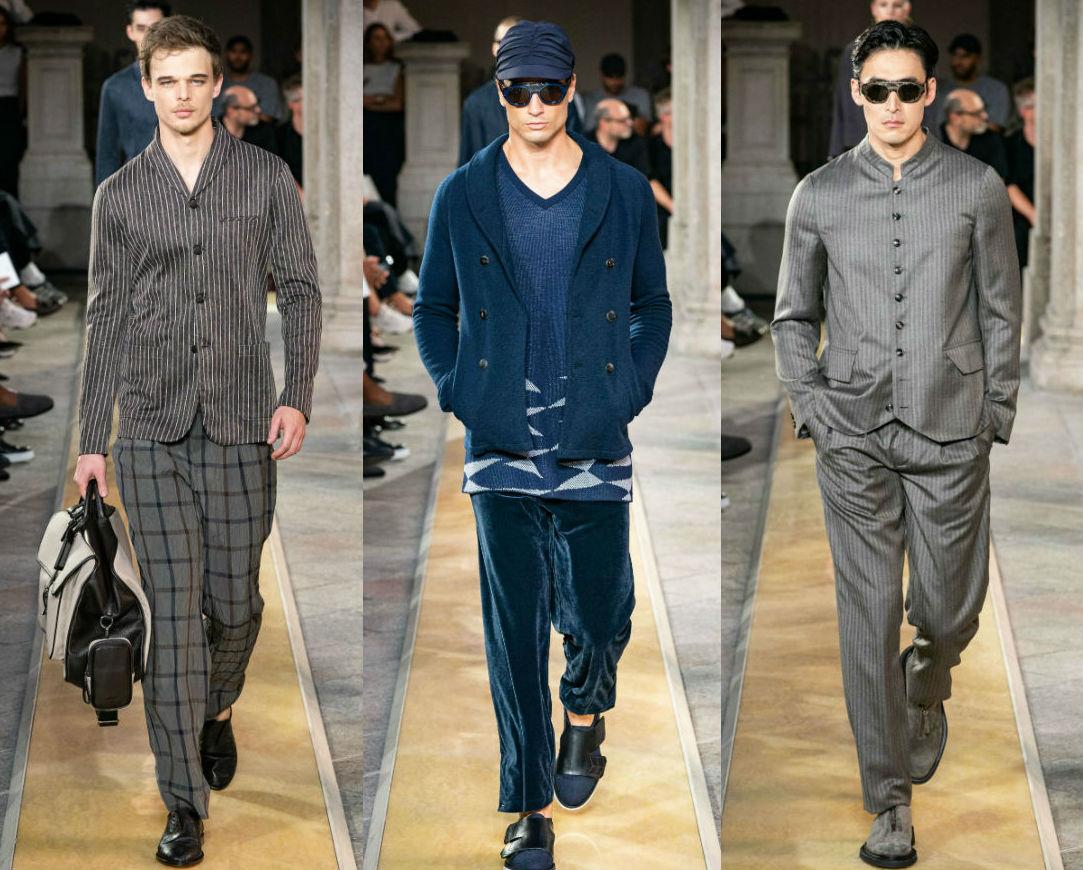 See Giorgio Armani's Menswear Collection for SS20