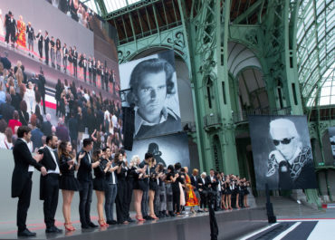 Take a glimpse inside the Karl Lagerfeld exhibition that took place in Paris this June