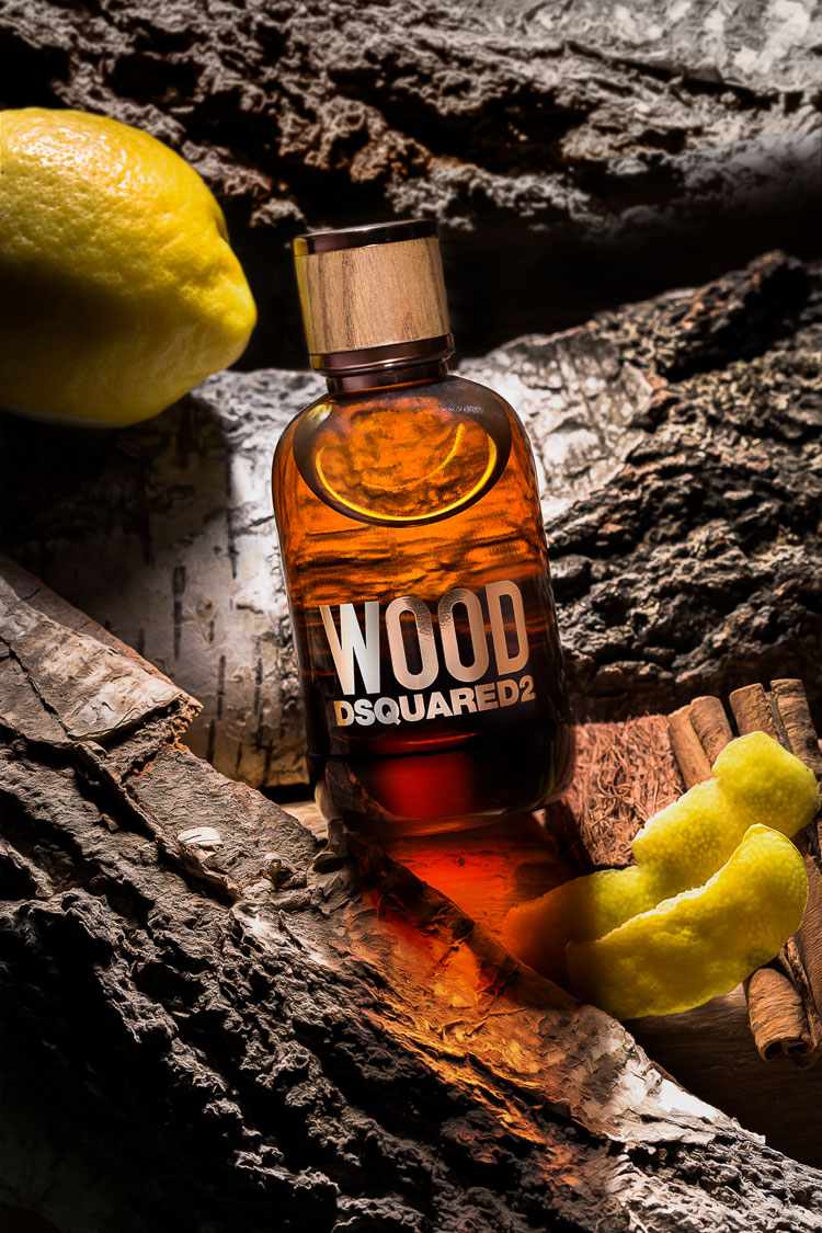 Wood is the new fragrance for men from Dsquared2