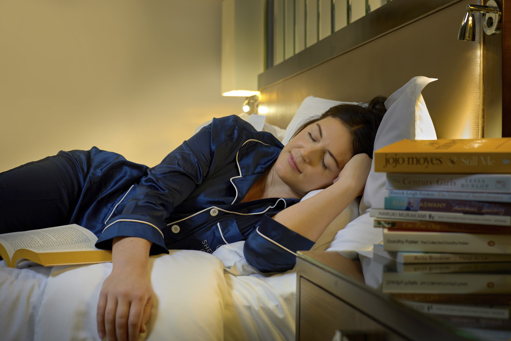 The books selected have been proven to help induce drowsiness