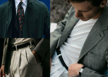 Sneak a peek at the capsule collection by Berg & Berg which has just dropped onto Mr Porter