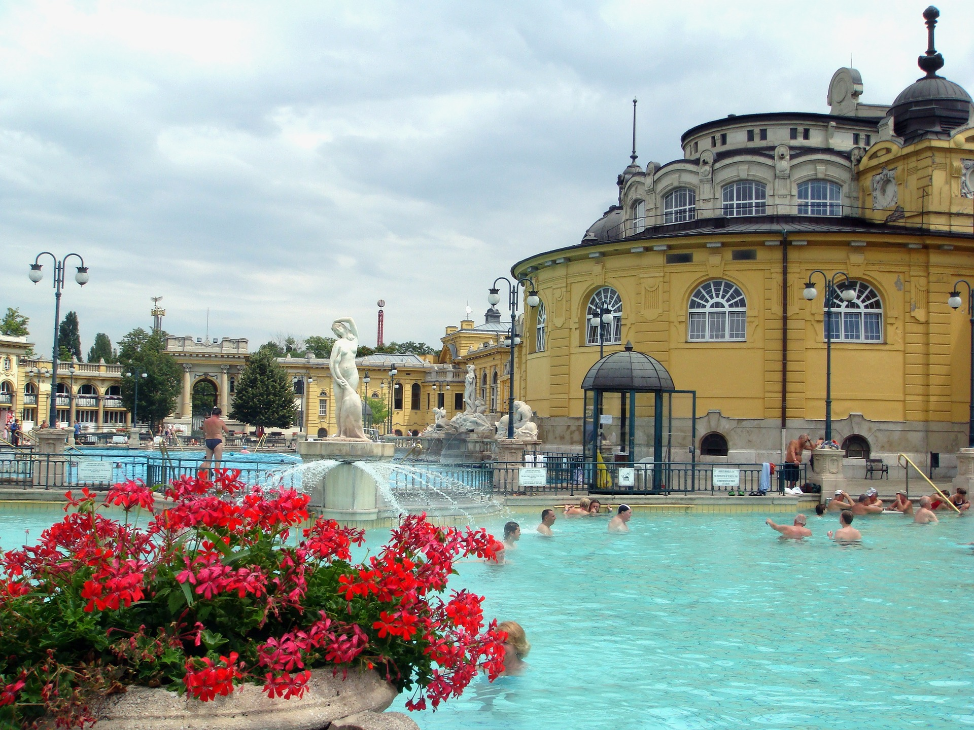 Budapest is known as the spa capital of the world