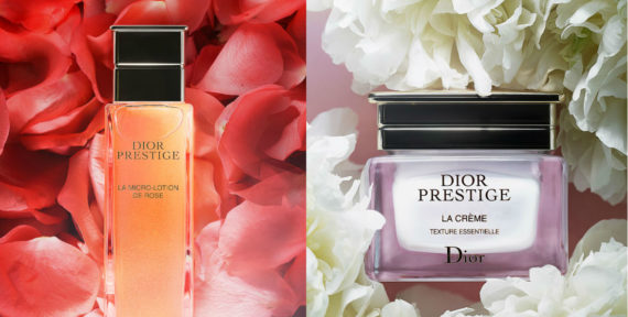 Explore the new Dior Prestige skincare collection