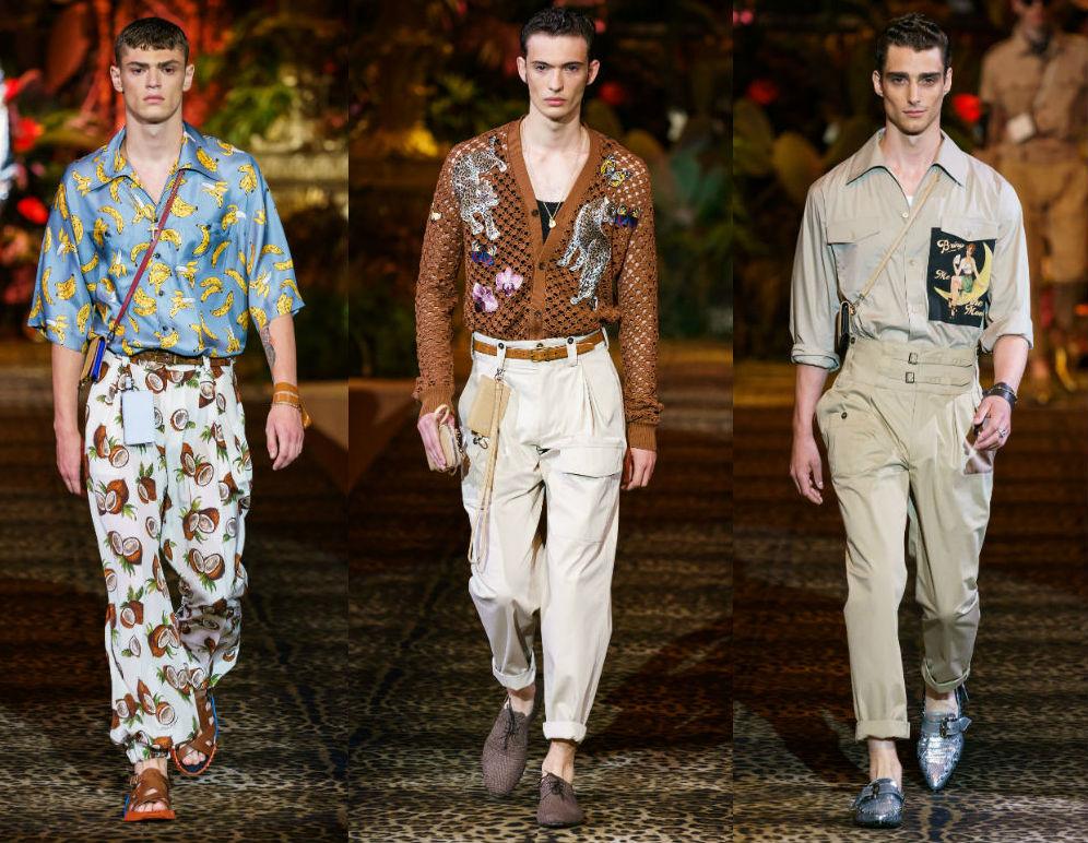 Dolce & Gabbana Menswear SS20
