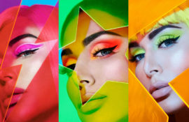See the new neon collection from Huda Beauty