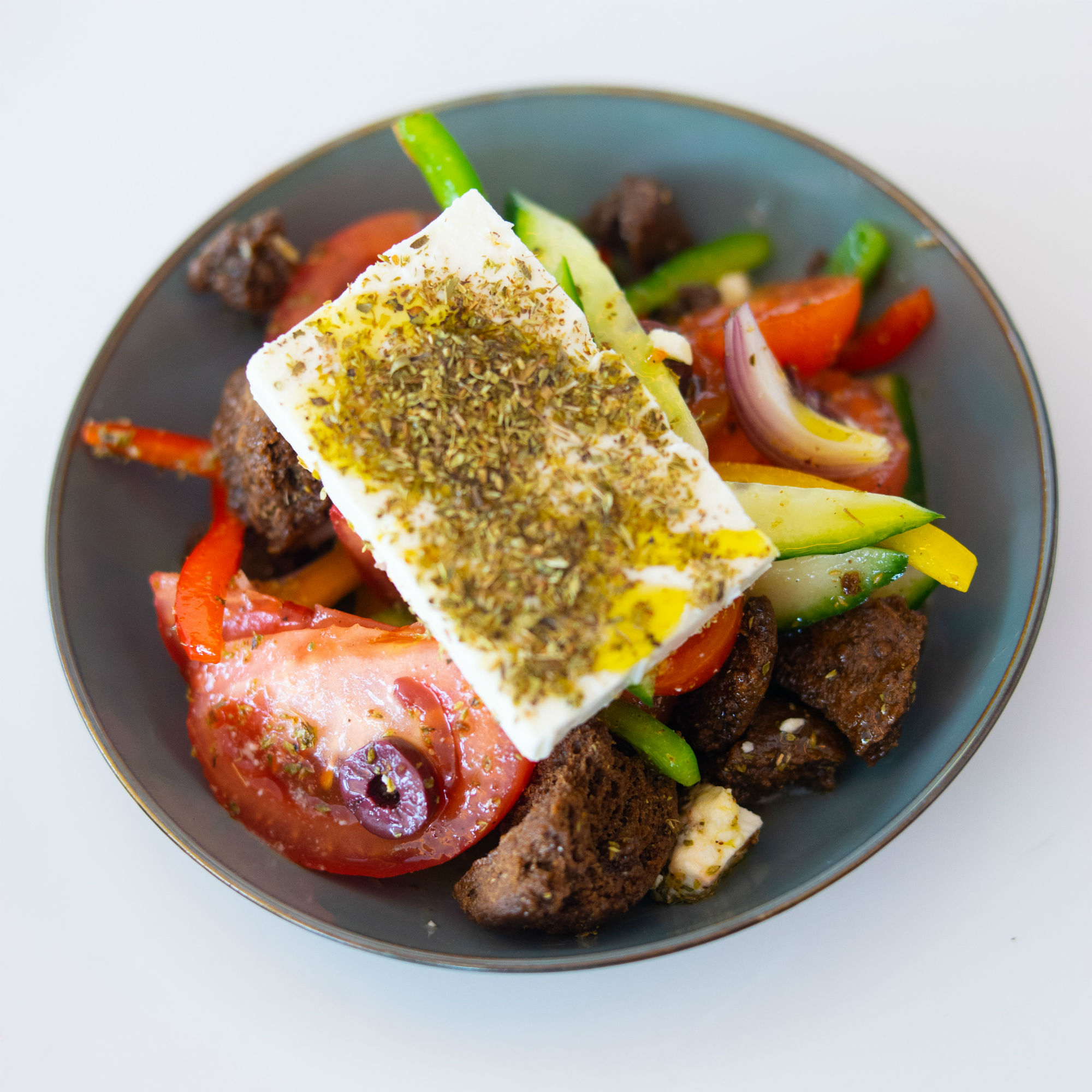 Greek Salad at The Lighthouse
