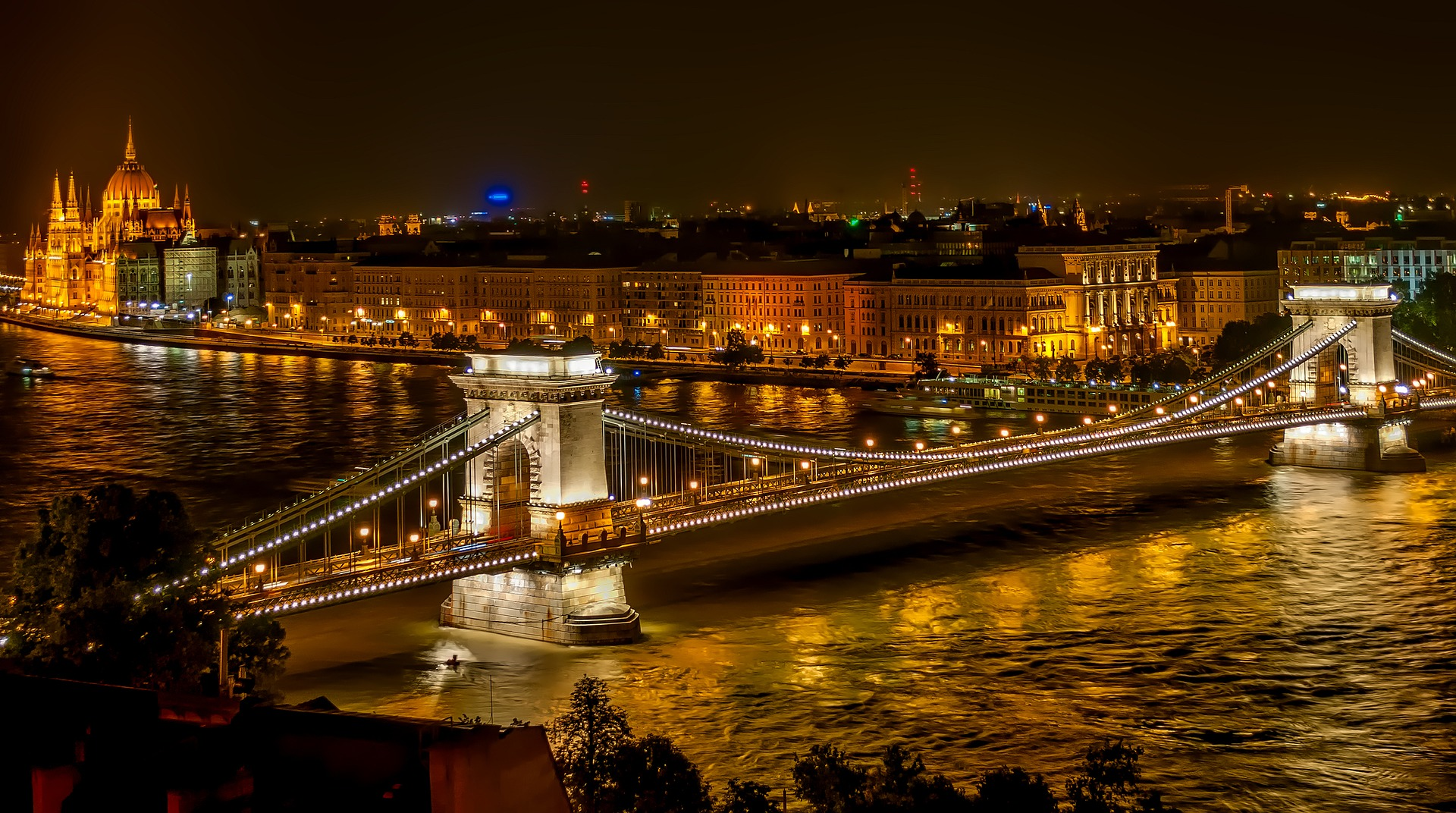Visit Budapest for the spas and so much more