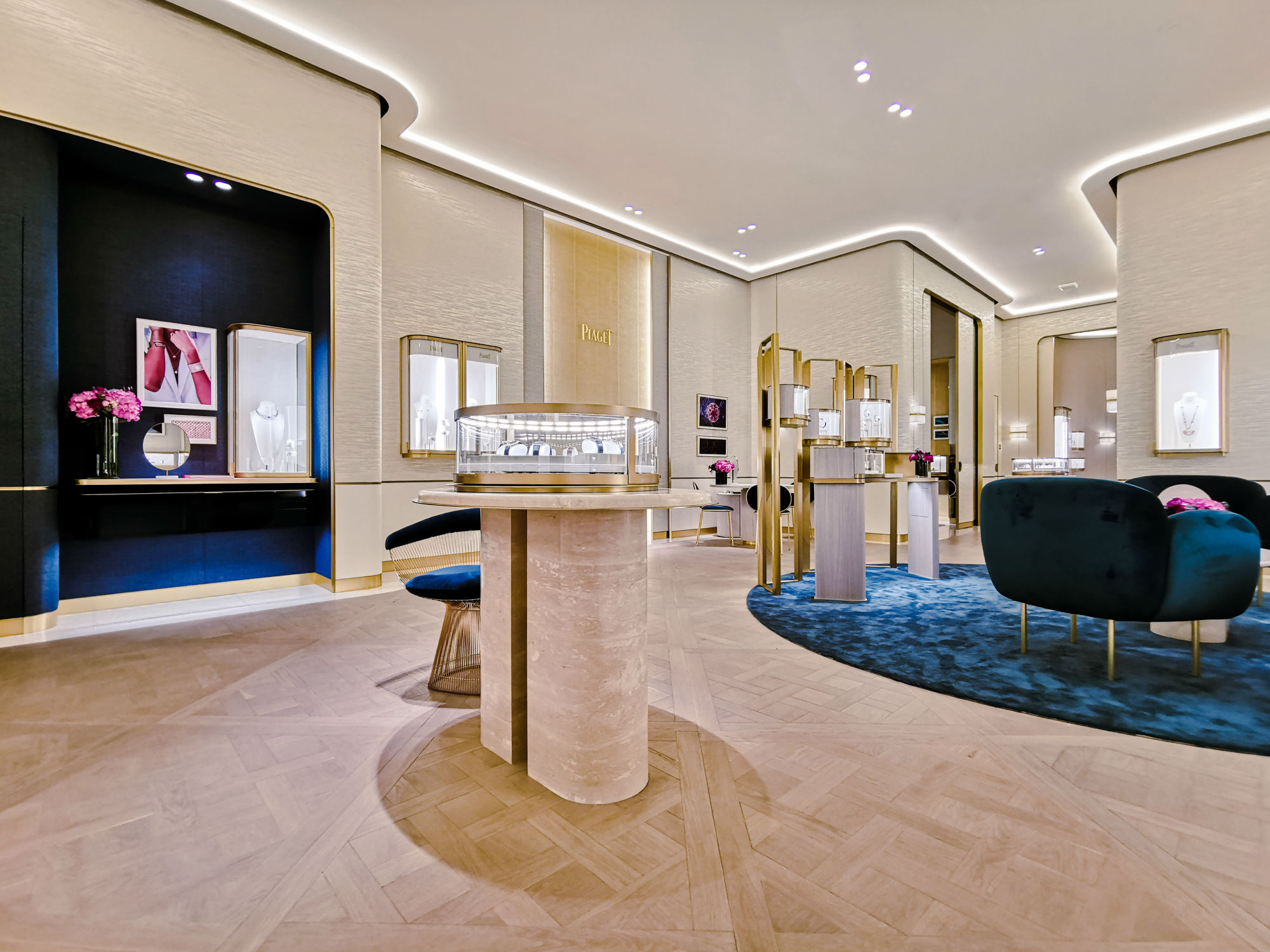 See inside the new flagship Piaget store in Abu Dhabi