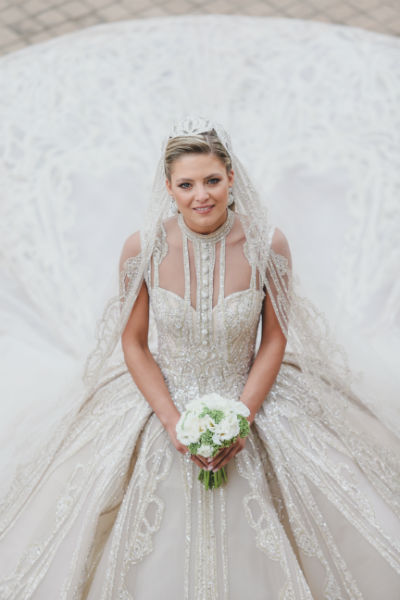 1 elie saab jr christina mourad wedding dress Religious Ceremony - Elie&Christina 19