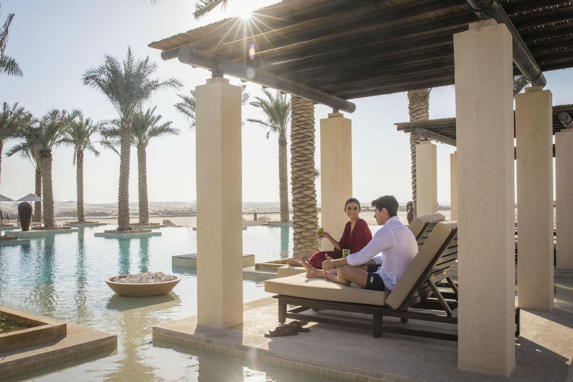 A&E enjoys a desert escape in Abu Dhabi's Jumeirah Al Wathba Desert Resort & Spa