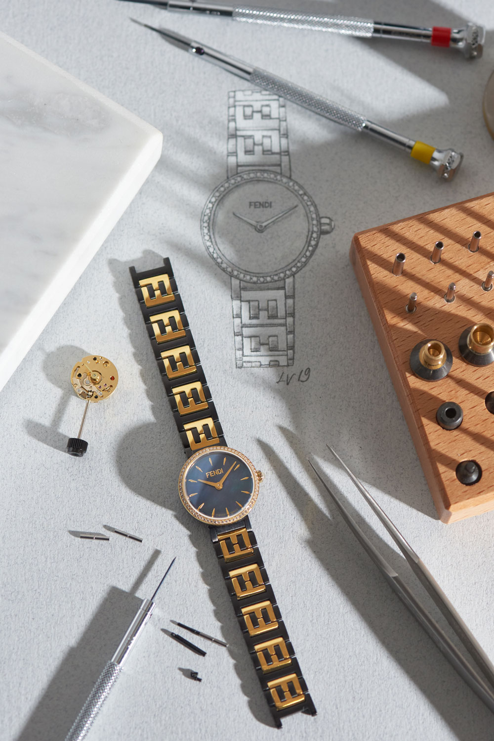 Forever Fendi: See the new watch collection