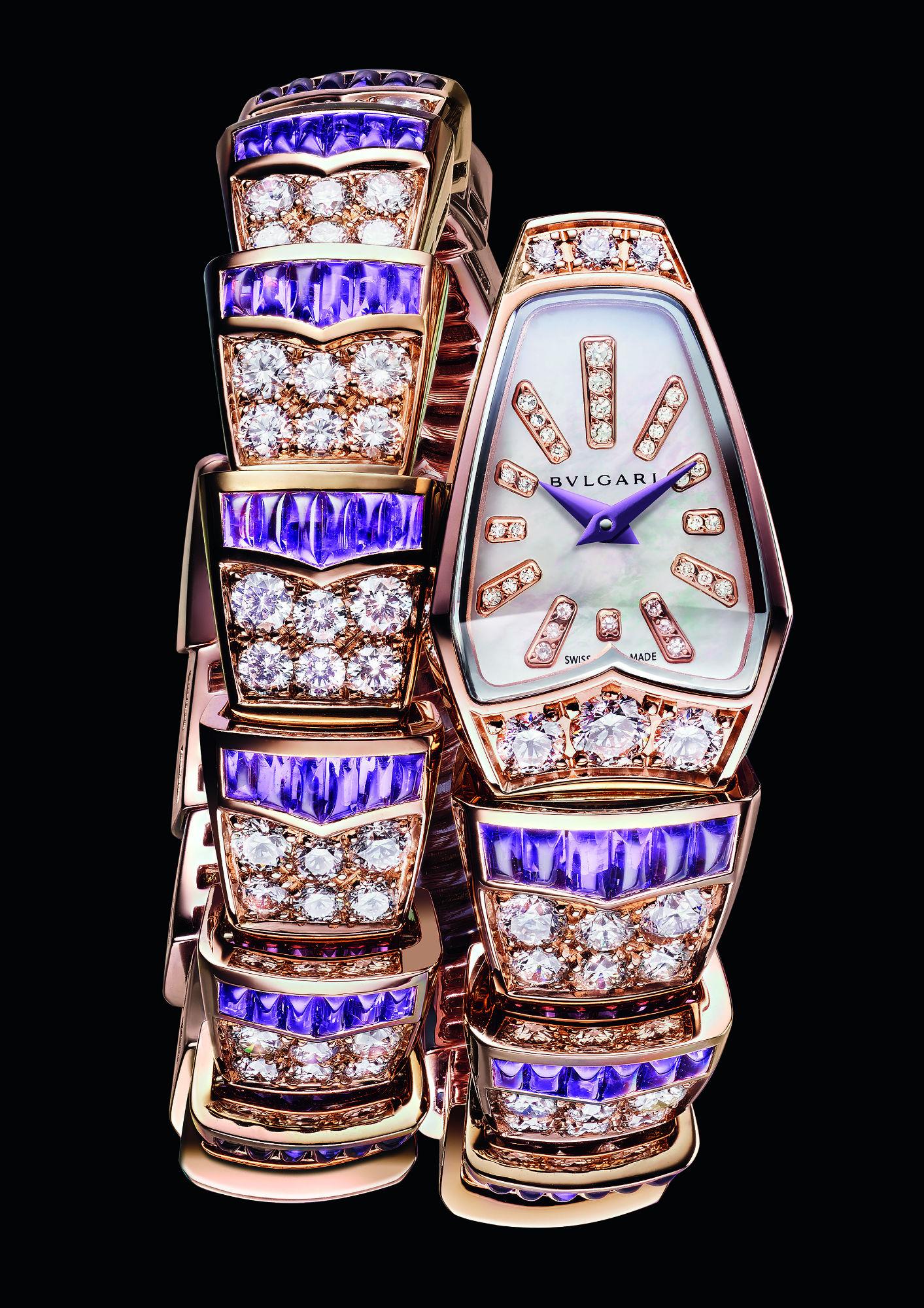 The new Bvlgari Serpenti designs are available at The Dubai Mall