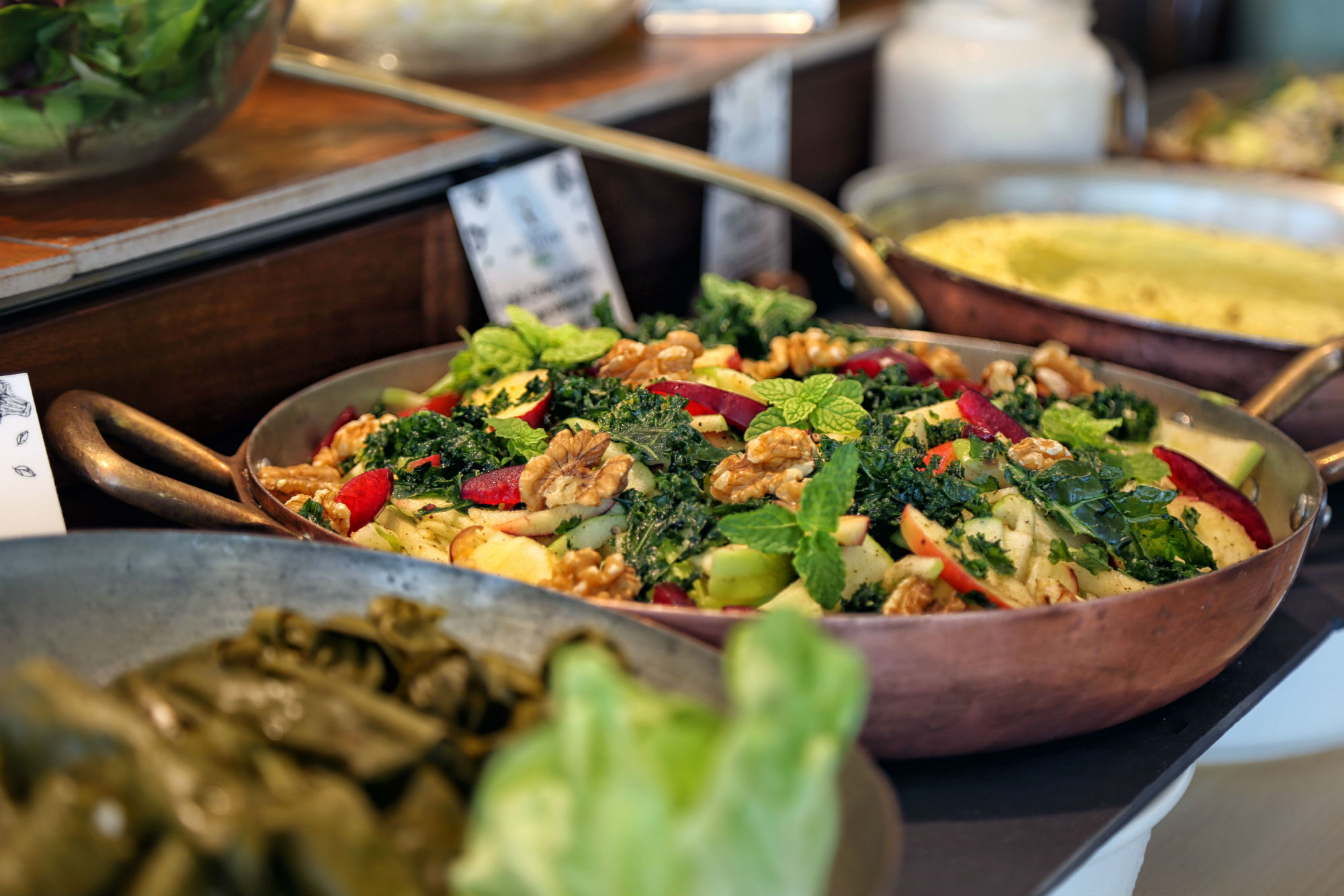 Nutrition is at the heart of The Retreat's wellness approach, too