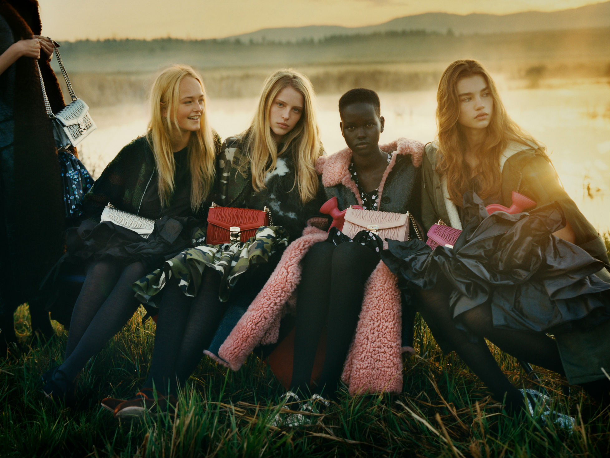 See more from Miu Miu's AW19 campaign