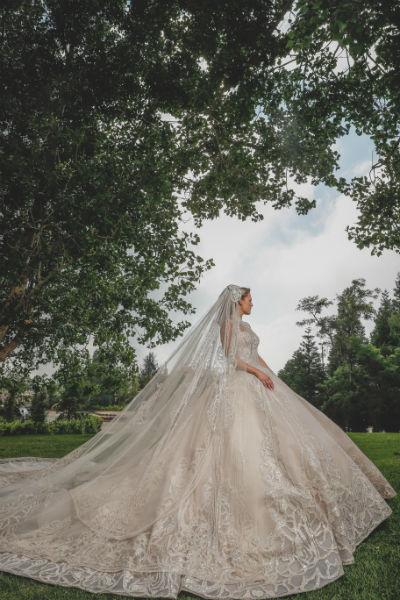 4 elie saab jr christina mourad wedding dress Bride Christina Mourad - Elie&Christina 19