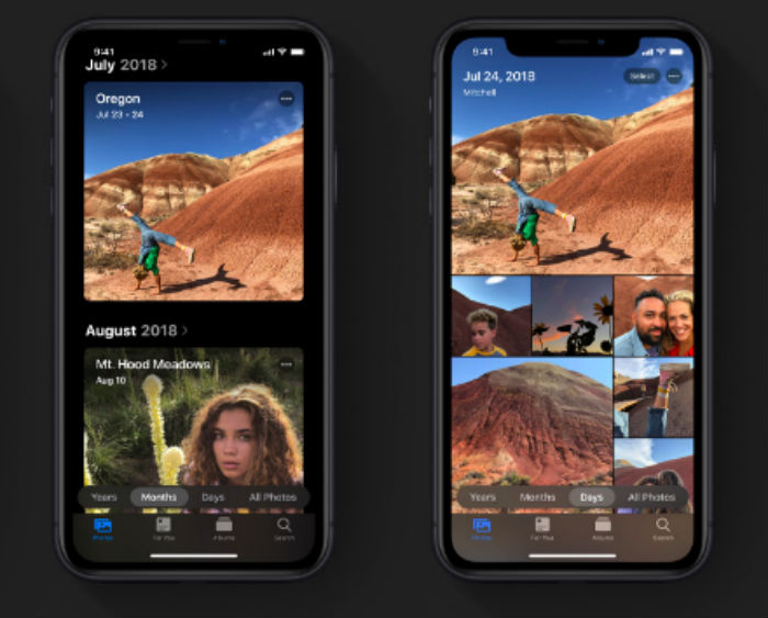 Many chances will take place with the Apple iOS 13 update