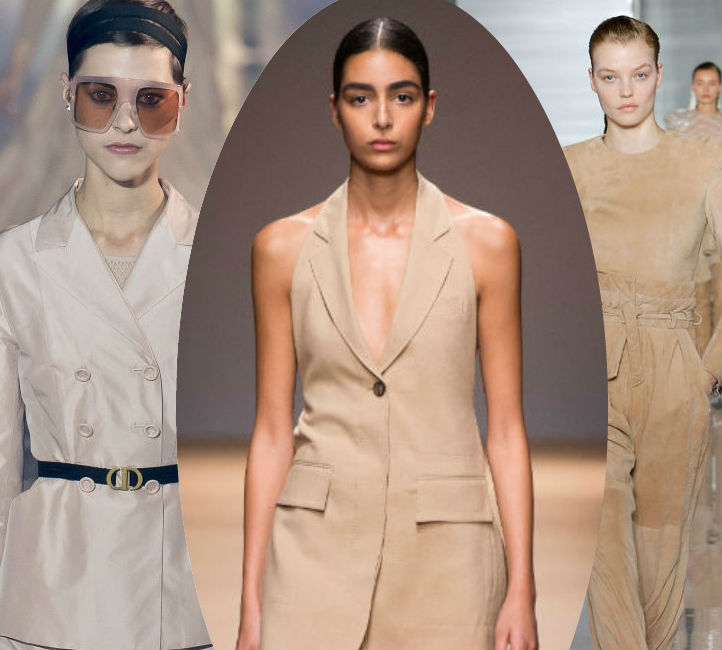 How to wear beige for Spring/Summer 2019