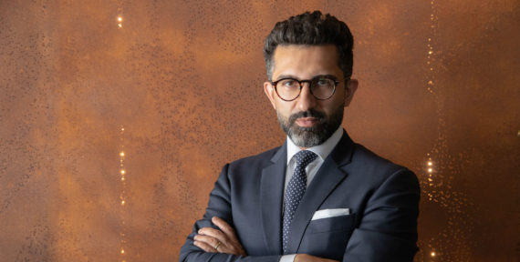 Dr Hamid Haqparwar Managing Director of BMW Group Middle East talks to A&E about his career to date