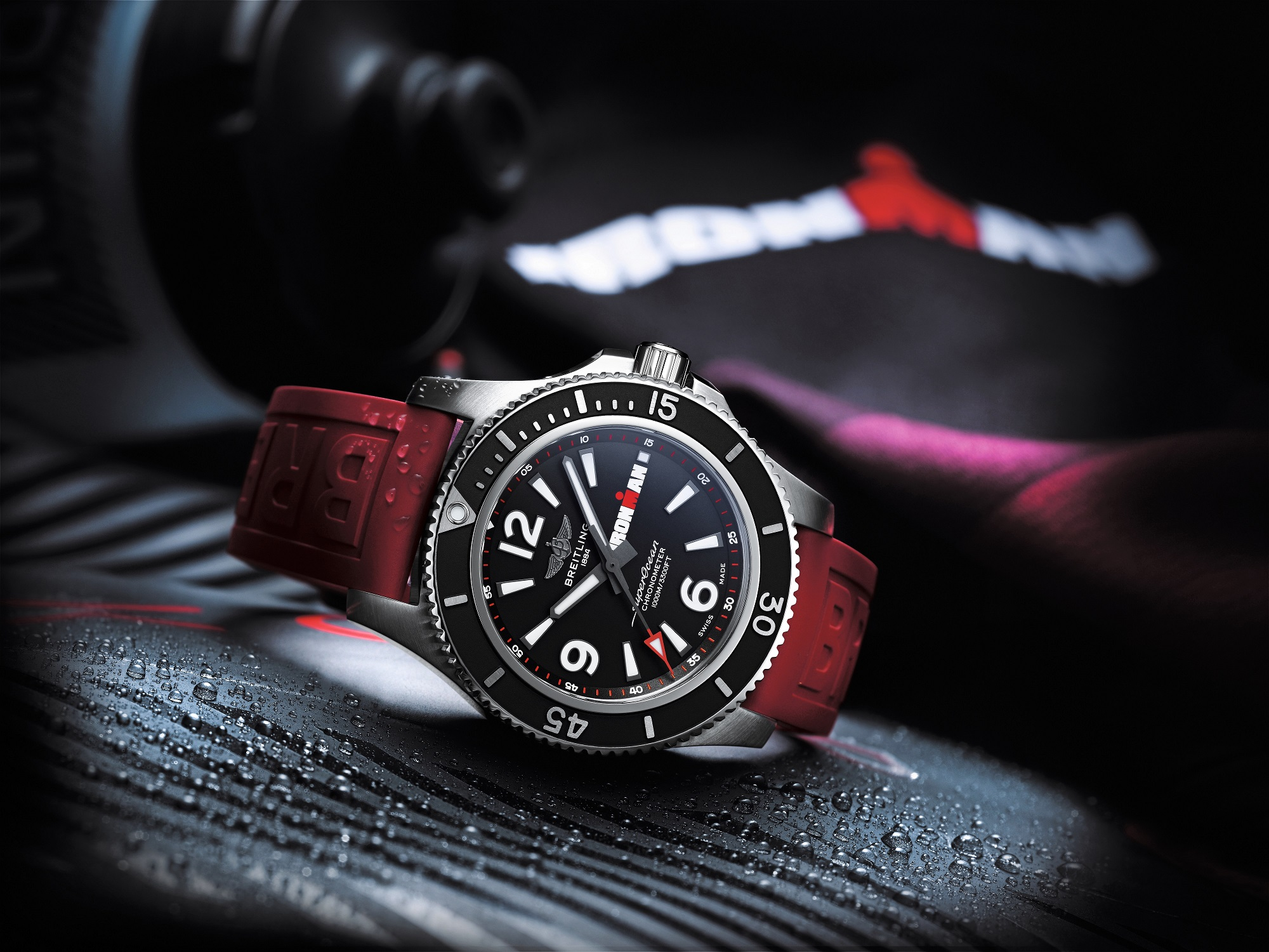 Breitling has teamed up with Ironman championships on its latest watch creation