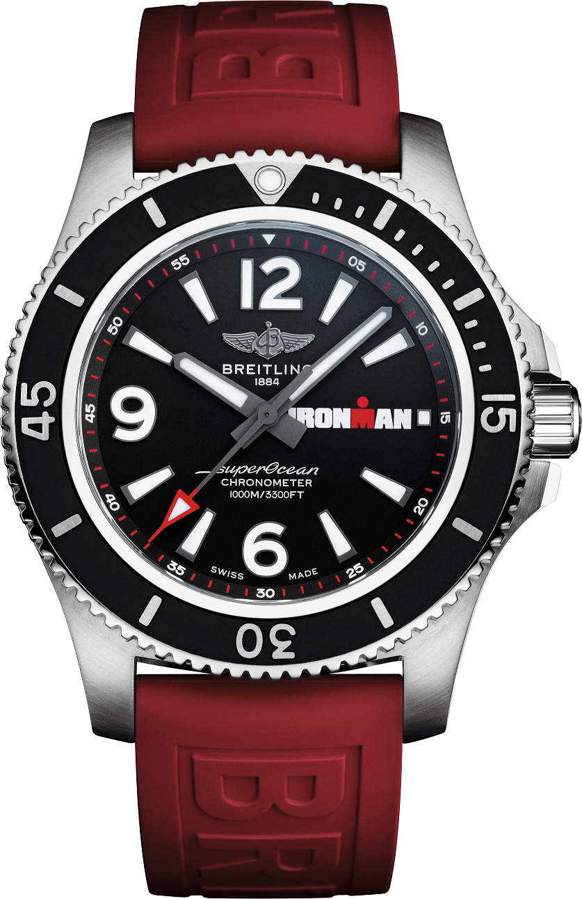 Breitling team up with Ironman for a limited edition Superocean timepiece